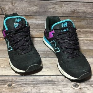New Balance Shoes Women's 7 Black/Purple/Blue